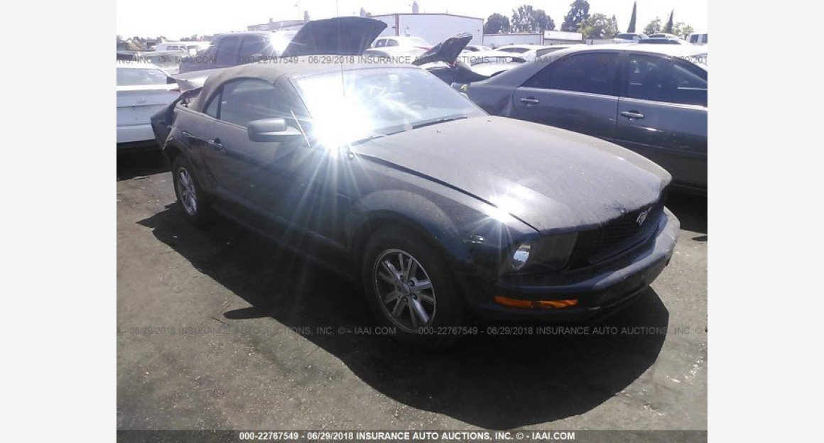 2007 Ford Mustang Convertible for sale 101015833
