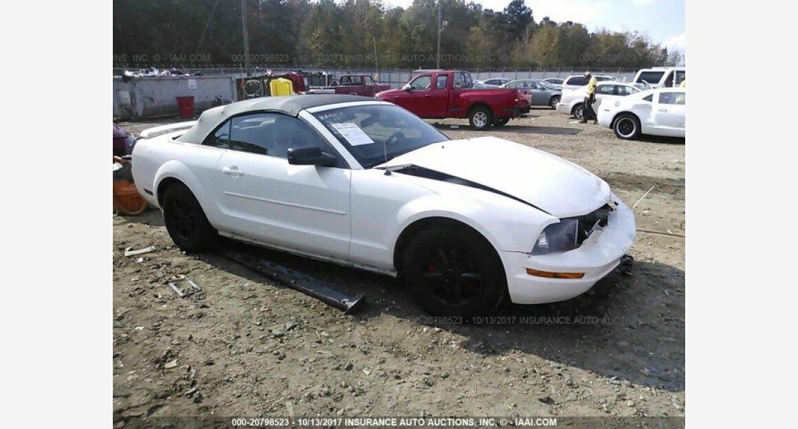 2007 Ford Mustang Convertible for sale 101015835