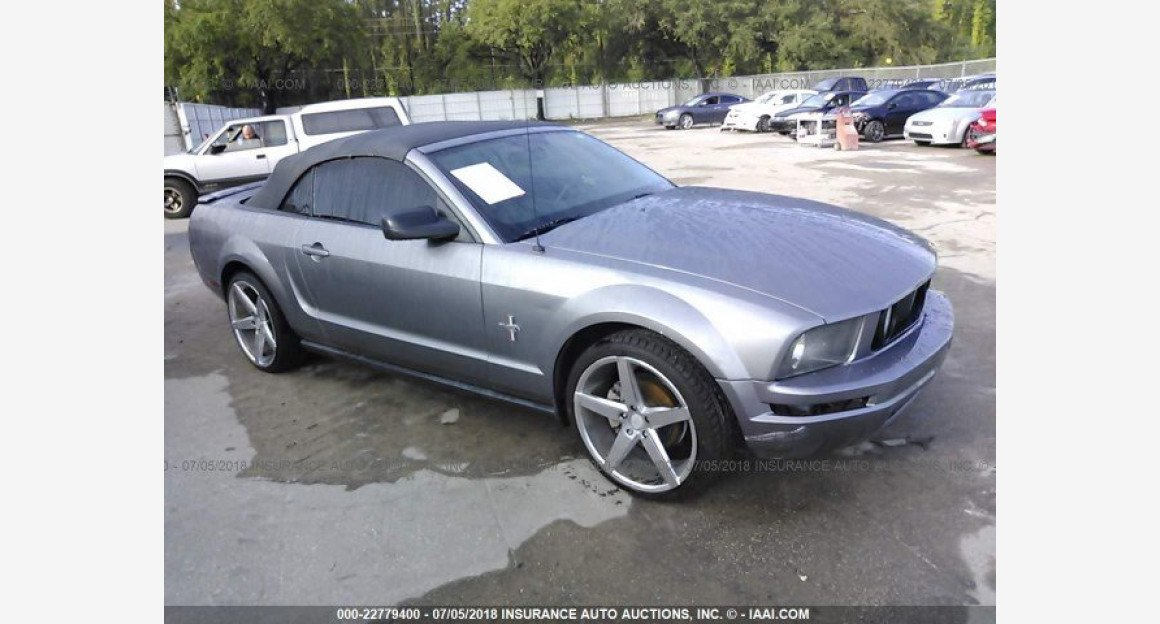 2007 Ford Mustang Convertible for sale 101015836
