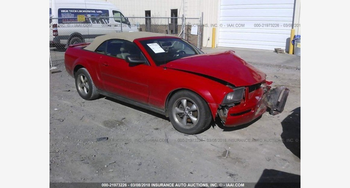 2007 Ford Mustang Convertible for sale 101015838