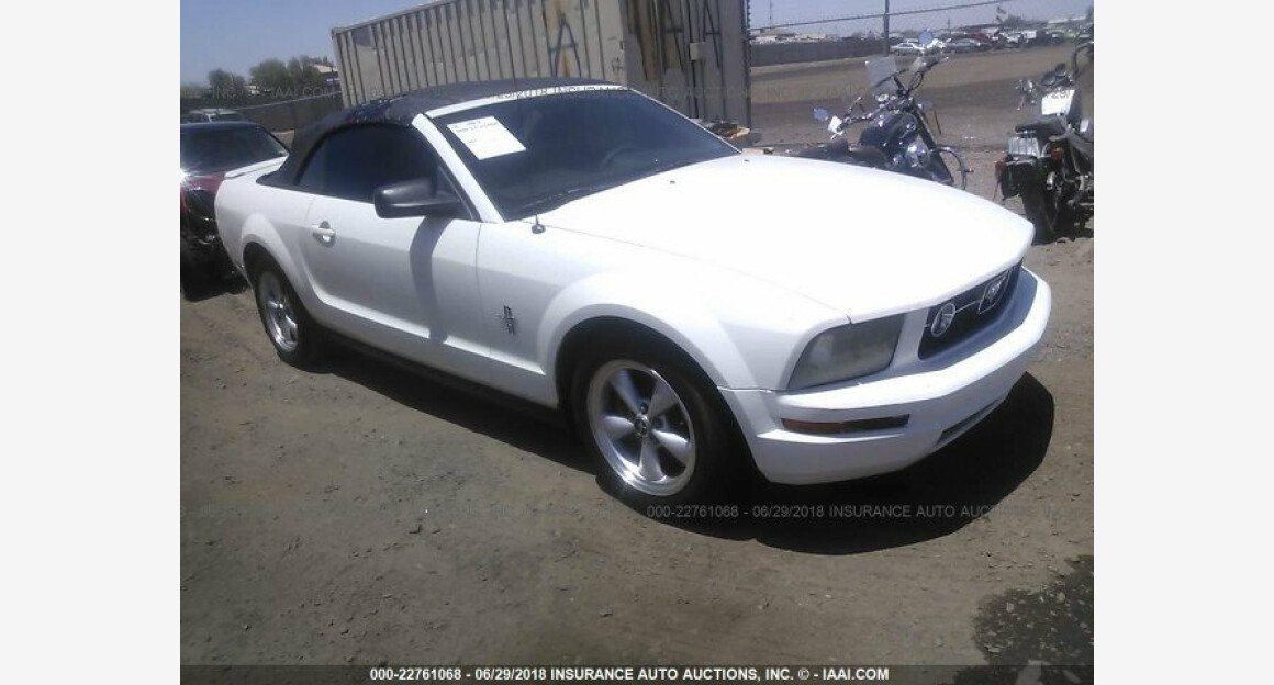 2007 Ford Mustang Convertible for sale 101015851