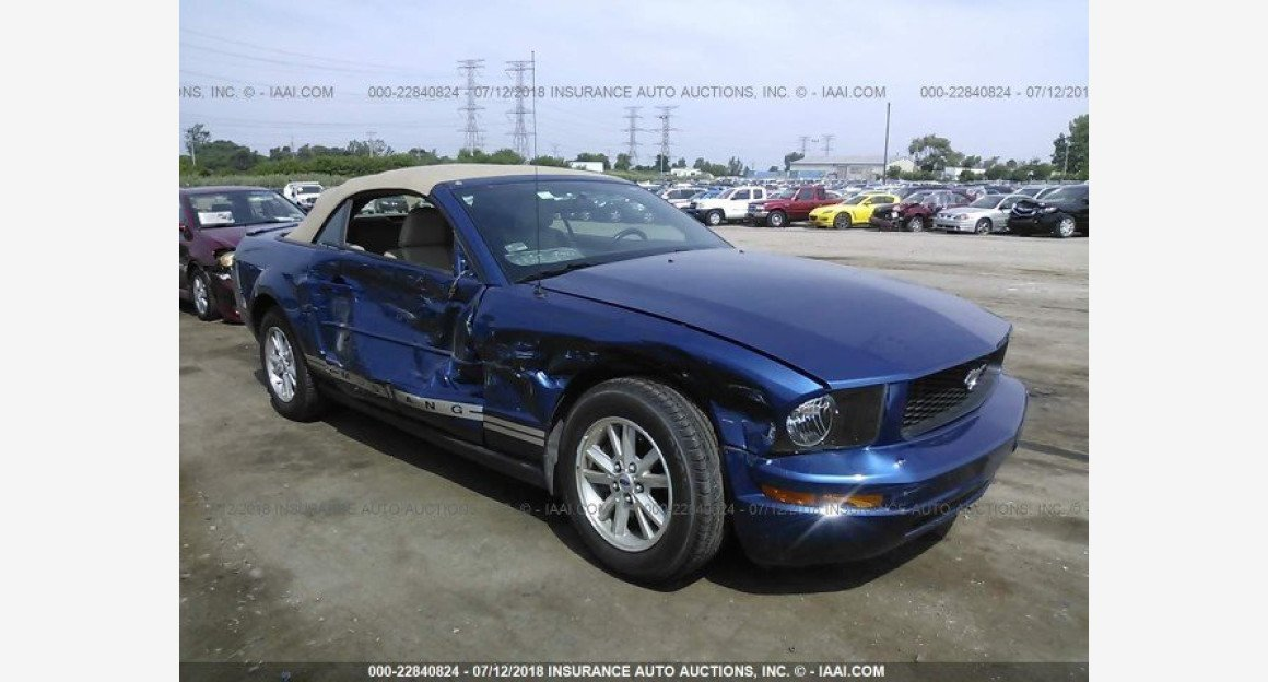 2007 Ford Mustang Convertible for sale 101015852