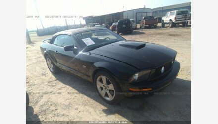 2007 Ford Mustang GT Convertible for sale 101189933