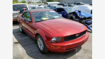 2007 Ford Mustang Convertible for sale 101190693