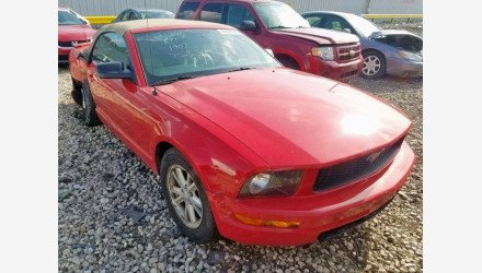 2007 Ford Mustang Convertible for sale 101191428