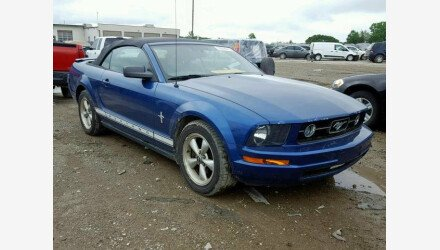 2007 Ford Mustang Convertible for sale 101191480