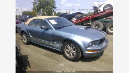 2007 Ford Mustang Convertible for sale 101195096