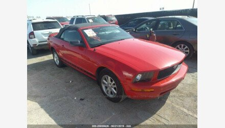 2007 Ford Mustang Convertible for sale 101195098
