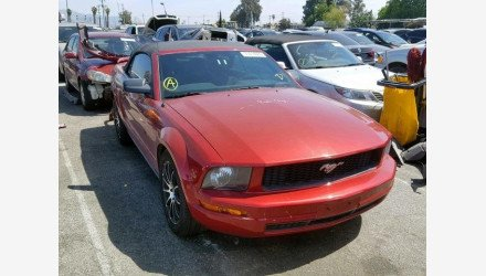 2007 Ford Mustang Convertible for sale 101195610