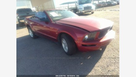 2007 Ford Mustang Convertible for sale 101195762