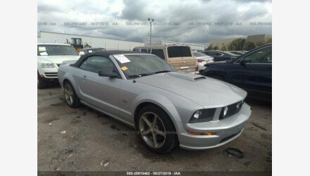 2007 Ford Mustang GT Convertible for sale 101205973