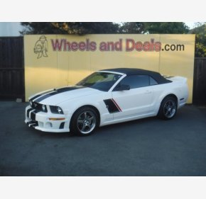 2007 Ford Mustang GT Convertible for sale 101214258