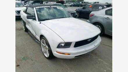 2007 Ford Mustang Convertible for sale 101219520