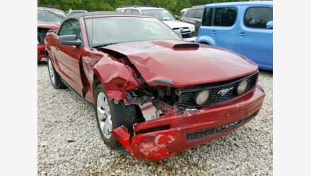 2007 Ford Mustang Convertible for sale 101222178
