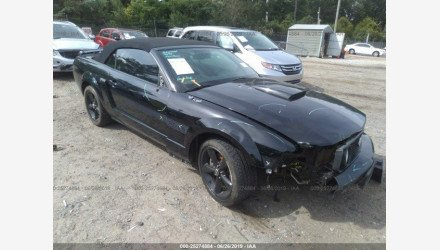 2007 Ford Mustang GT Convertible for sale 101223273