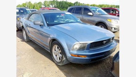 2007 Ford Mustang Convertible for sale 101223772
