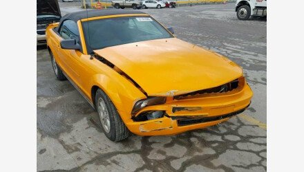 2007 Ford Mustang Convertible for sale 101223783