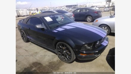 2007 Ford Mustang Convertible for sale 101223905