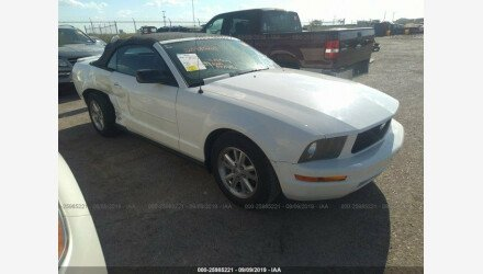 2007 Ford Mustang Convertible for sale 101224549