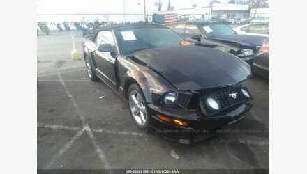 2007 Ford Mustang GT Convertible for sale 101280219