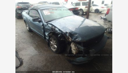 2007 Ford Mustang Convertible for sale 101281956