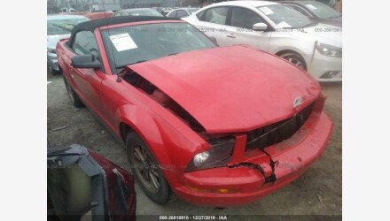 2007 Ford Mustang Convertible for sale 101284399