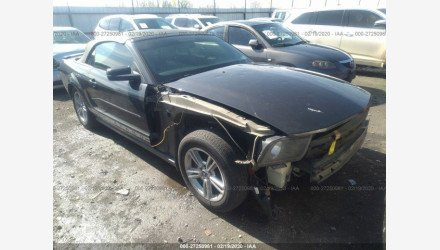 2007 Ford Mustang Convertible for sale 101289790