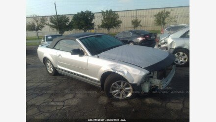 2007 Ford Mustang Convertible for sale 101341634