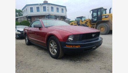 2007 Ford Mustang Convertible for sale 101344075