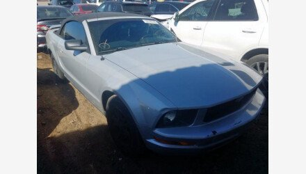 2007 Ford Mustang Convertible for sale 101358038