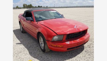 2007 Ford Mustang Convertible for sale 101360763