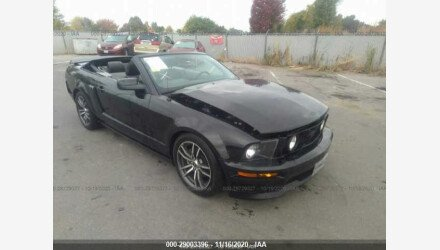 2007 Ford Mustang GT Convertible for sale 101408578