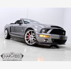 2007 Ford Mustang Shelby GT500 Convertible for sale 101412766