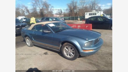2007 Ford Mustang Convertible for sale 101465049