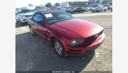 2007 Ford Mustang Convertible for sale 101465089
