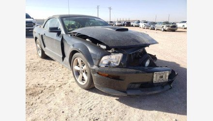 2007 Ford Mustang GT Convertible for sale 101468590