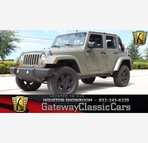 2007 Jeep Wrangler 2WD Unlimited Sahara for sale 101030544