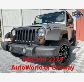 2007 Jeep Wrangler 4WD Unlimited X for sale 101108717