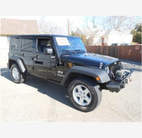 2007 Jeep Wrangler 4WD Unlimited X for sale 101111584