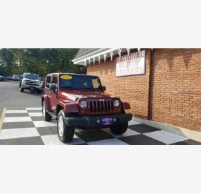 2007 Jeep Wrangler 4WD Sahara for sale 101210954