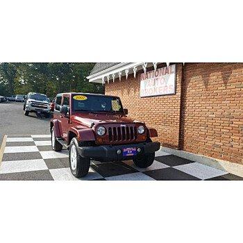 2007 Jeep Wrangler 4WD Sahara for sale 101210954