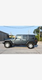 2007 Jeep Wrangler 4WD Unlimited X for sale 101299612