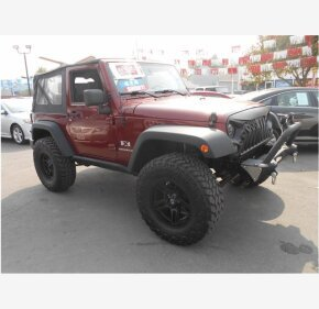 2007 Jeep Wrangler for sale 101373138