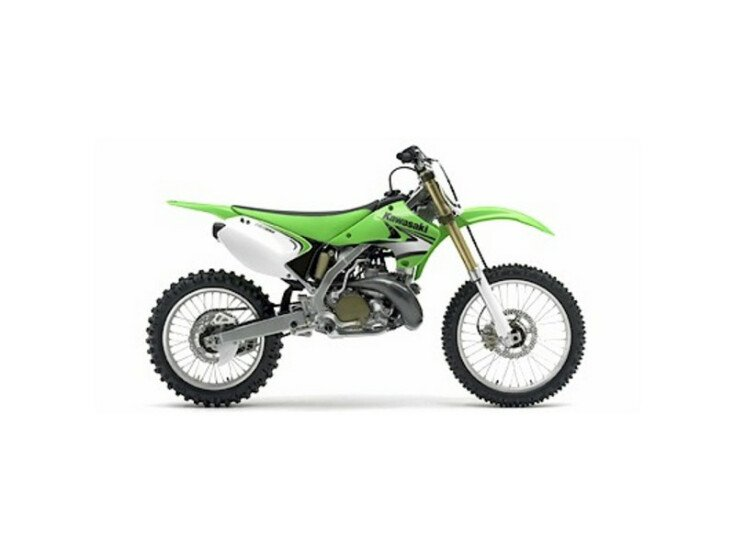 2007 Kawasaki KX100 250 specifications