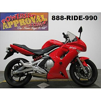 2007 Kawasaki Ninja 650R for sale 200646762