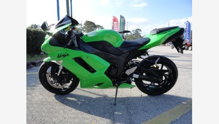 2007 Kawasaki Ninja ZX-6R for sale 200425076