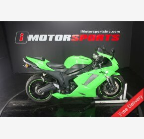 2007 Kawasaki Ninja ZX-6R for sale 200675224
