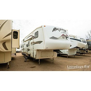 2007 Keystone Raptor for sale 300211722