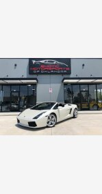 2007 Lamborghini Gallardo Spyder for sale 101011376