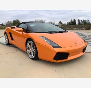 2007 Lamborghini Gallardo Spyder for sale 101448522